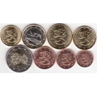 Suomija 2011 Euro monetų UNC rinkinys