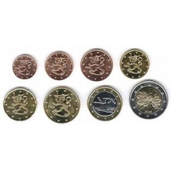 Suomija 2004 Euro monetų UNC rinkinys