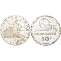 Prancūzija 1997 10 Frankų Pasaulio Futbolo čempionatas 1998