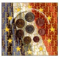 Prancūzija 1999 Euro monetų BU rinkinys