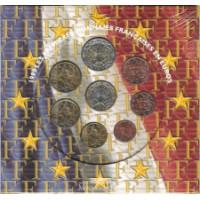 Prancūzija 2000 Euro monetų BU rinkinys