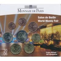 Prancūzija 2006 Euro monetų BU rinkinys Berlin