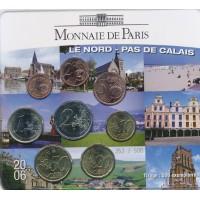 Prancūzija 2006 Euro monetų BU rinkinys Calais