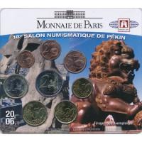 Prancūzija 2006 Euro monetų BU rinkinys Pekin