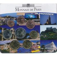 Prancūzija 2006 Euro monetų BU rinkinys La Provence