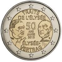 Prancūzija 2013 Eliziejaus sutarties pasirašymo 50-osios metinės