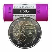 Prancūzija 2013 Pjero de Kuberteno (Pierre de Coubertin) Rulonas