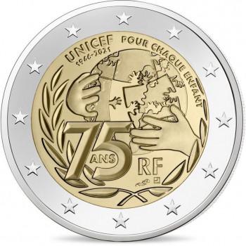 Prancūzija 2021 Unicef 75 -osios įkurimo metinės