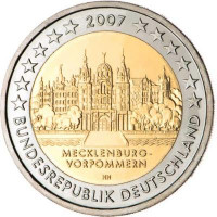 Vokietija 2007 Meklenburgas-Pomeranija (bet kuri atsitiktinė raidė)