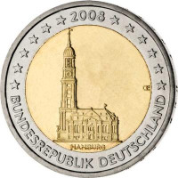 Vokietija 2008 Hamburgo federacinė žemė (bet kuri atsitiktinė raidė)