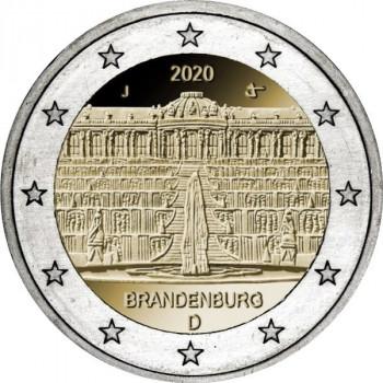 Vokietija 2020 Brandenburgo - Sanssouci rūmai Potsdame (bet kokia atsitiktinė raidė)