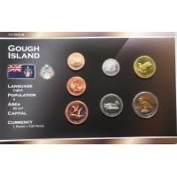 Gofo sala 2009 metų monetų rinkinys lankstinuke