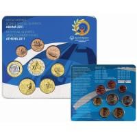 Graikija 2011 Euro monetų BU rinkinys