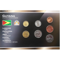 Gajana 1991-2002 metų monetų rinkinys lankstinuke