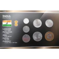 Indija 1988-2006 metų monetų rinkinys lankstinuke