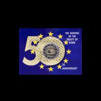 Airija 2007 Romos sutarties 50-osios metinės kortelėje