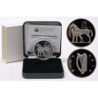 Airija 2010 15 eurų Arklys