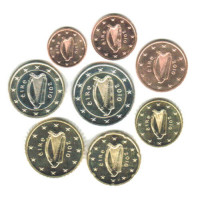Airija 2010 UNC Euro Monetų UNC Rinkinys