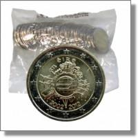 Airija 2012 Eurų banknotų ir monetų dešimtmetis maišelis
