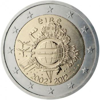 Airija 2012 Eurų banknotų ir monetų dešimtmetis
