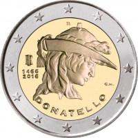 Italija 2016 550-osios Donatelo mirties metinės
