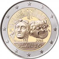 Italija 2016 2 200-osios Tito Makcijaus Plauto mirties metinės
