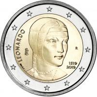 Italija 2019 500-osios Leonardo Da Vinci mirties metinės