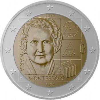 Italija 2020 150-osios Marijos Montessori gimimo metinės