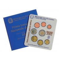 Italija 2002 Euro monetų BU rinkinys