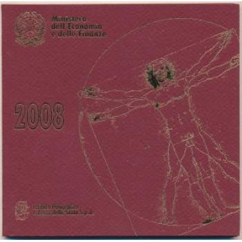 Italija 2008 Euro monetų BU rinkinys