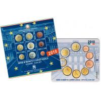 Italija 2010 Euro monetų BU rinkinys su Kavūro moneta