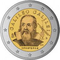 Italija 2014 Galilėjo Galilėjaus (gim. 1564 m.) 450-osios gimimo metinės