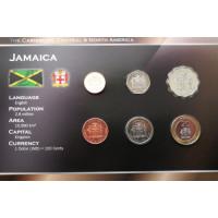 Jamaika 1996-2003 metų monetų rinkinys lankstinuke