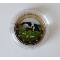Latvija 2016 Karvė spalvota