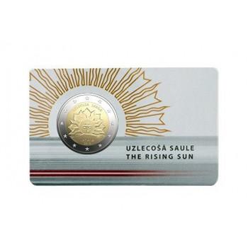 Latvija 2019 Tekanti saulė kortelėje