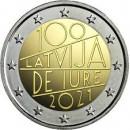 Latvija 2021 100-osios Latvijos tarptautinio pripažinimo de jure metinės