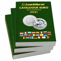 Leuchtturm euro monetų ir banknotų katalogas 2021