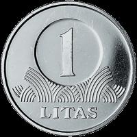Lietuva 2008 1 Litas