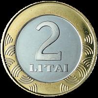 Lietuva 2008 2 Litai