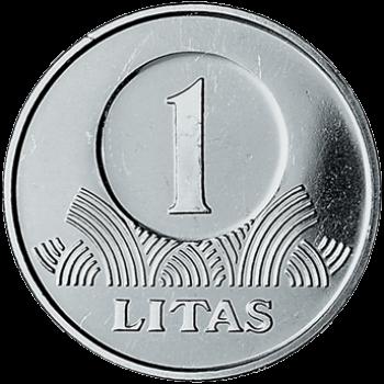 Lietuva 2010 1 Litas