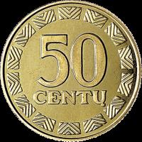 Lietuva 1997 50 centų