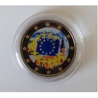 Lietuva 2015 Europos Sąjungos vėliavos 30-metis spalvota