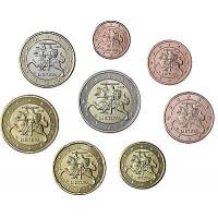 Lietuva 2015 Euro Monetų UNC Rinkinys