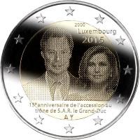 Liuksemburgas 2015 15-osios Jo Karališkosios Prakilnybės Didžiojo Hercogo įžengimo į sostą metinės
