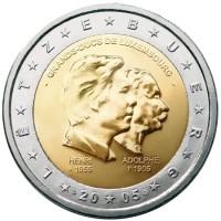 Liuksemburgas 2005 Didžiojo kunigaikščio Henri penkiasdešimtmetis, jo karūnavimo penktosios metinės ir šimtosios Didžiojo kunigaikščio Adolfo mirties metinės