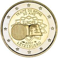 Liuksemburgas 2007 TOR Romos sutarties 50-osios metinės
