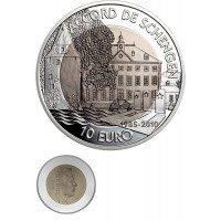 Liuksemburgas 2010 10 eurų Šengenas