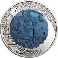 Liuksemburgas 2010 5 eurai Serija Pilys