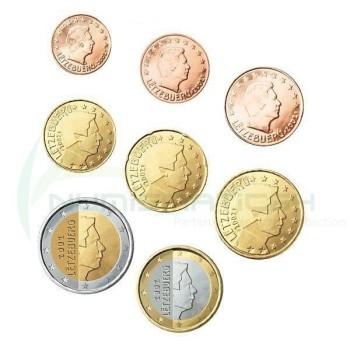 Liuksemburgas 2012 Euro Monetų UNC Rinkinys
