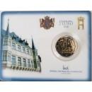 Liuksemburgas 2018 Didžiojo kunigaikščio Guillaume I mirties 175-osios metinės kortelėje